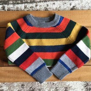GAP Crazy Stripe Sweater Toddler Sz 2T